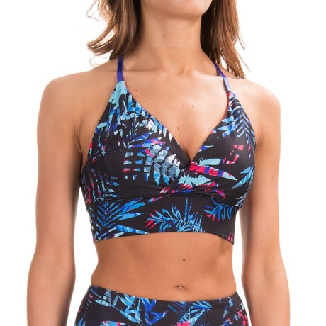 Kyodan Dance Sports Bra - Medium Impact, T-Back, Removable Cups (For Women)