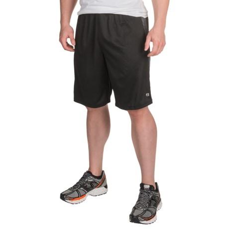 Layer 8 Embossed Training Shorts (For Men)