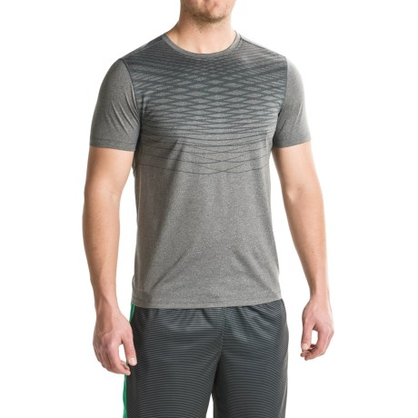 Layer 8 Sued Chest Print T-Shirt - Short Sleeve (For Men)