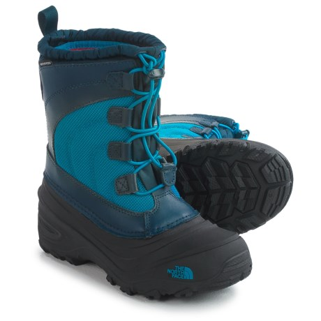 The North Face Alpenglow IV Snow Boots - Waterproof, Insulated (For Little and Big Kids)