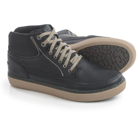 Skechers Relaxed Fit Palen Bower High-Top Sneakers - Leather (For Men)