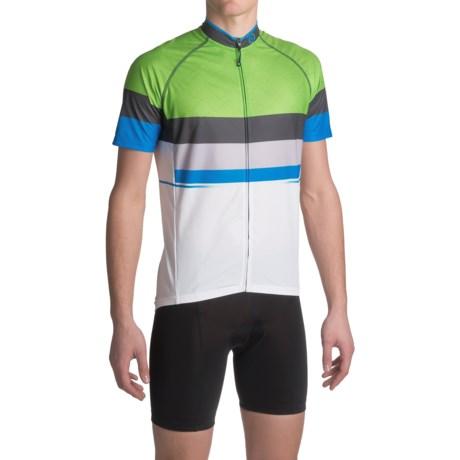 Canari Del Mar Cycling Jersey - UPF 30+, Full Zip, Short Sleeve (For Men)