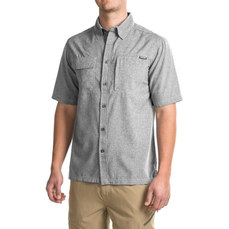 Pacific Trail Crosshatch Shirt - UPF 30, Short Sleeve (For Men)