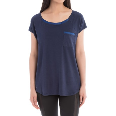 Lole Aidan Shirt - Relaxed Fit, Short Sleeve (For Women)