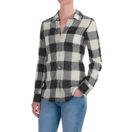 dylan Buffalo Plaid Blouse - Long Sleeve (For Women)