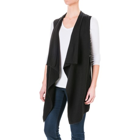 dylan Long Drape Sweater Vest (For Women)