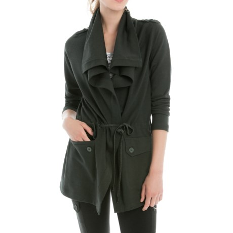 Lole Barbara Draped Front Jacket (For Women)