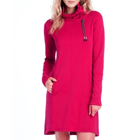 Lole Call Me Dress - Cowl Neck, Long Sleeve (For Women)