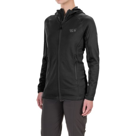 Mountain Hardwear Desna Grid Polartec® Power Dry® Fleece Jacket (For Women)