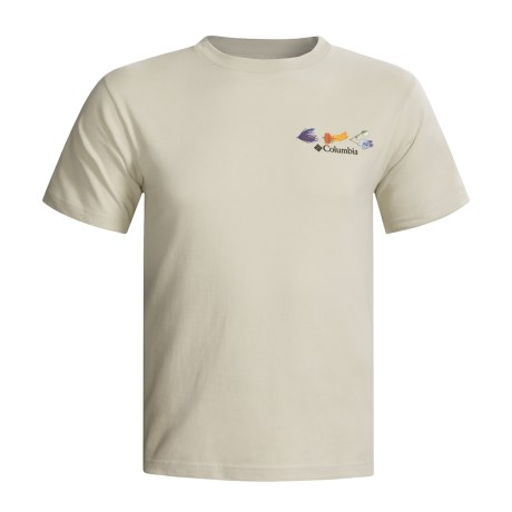 Columbia Sportswear Periodic Fishing Chart T-Shirt - Short Sleeve (For Big and Tall Men)