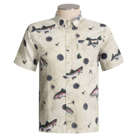Columbia Sportswear Dry Fly Print Shirt - Short Sleeve (For Men)