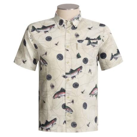 Columbia Sportswear Dry Fly Print Shirt - Short Sleeve (For Men)