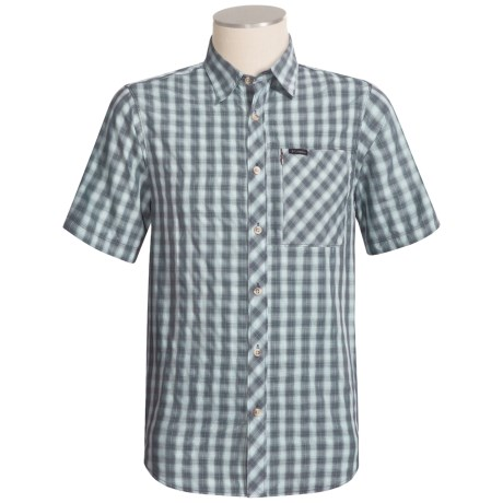Columbia Sportswear Basalt Shirt - Titanium, Short Sleeve (For Men)