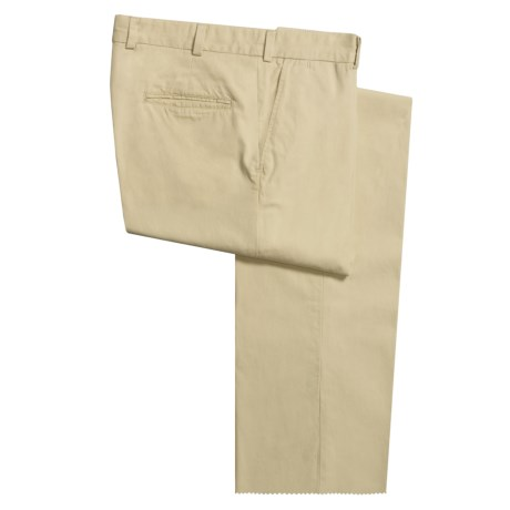 Bills Khakis M3 Poplin Pants - Flat Front, Cotton (For Men)