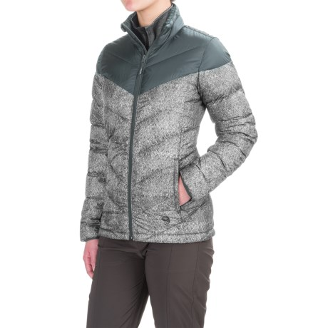 Mountain Hardwear Ratio Printed Down Jacket - 650 Fill Power (For Women)