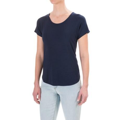 Lucy & Laurel Dolman Shirt - Stretch Modal, Short Sleeve (For Women)