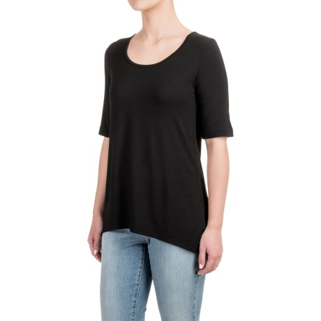 Kenar High-Low Shirt - Elbow Sleeve (For Women)