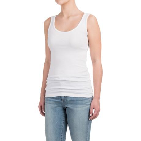 Cynthia Rowley Wide Strap Tank Top - Pima Cotton-Modal (For Women)