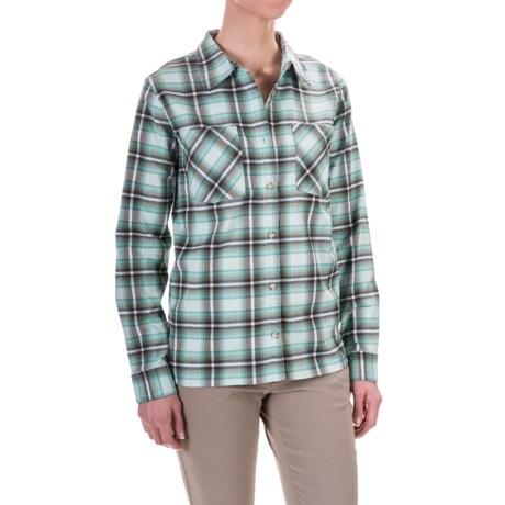 Mountain Hardwear Stretchstone Boyfriend Shirt - Long Sleeve (For Women)