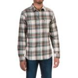 Mountain Hardwear Stretchstone Flannel Shirt - Long Sleeve (For Men)