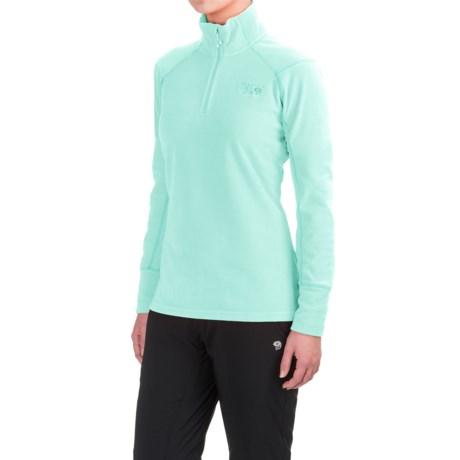 Mountain Hardwear MicroChill 2.0 Fleece Shirt - UPF 50, Zip Neck, Long Sleeve (For Women)