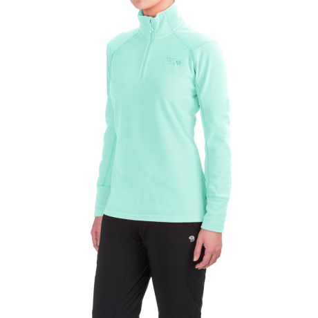 Mountain Hardwear MicroChill 2.0 Fleece Shirt - UPF 50, Zip Neck, Long Sleeve (For Women)