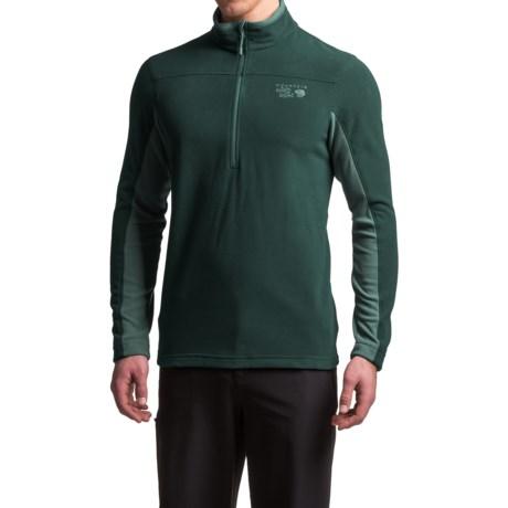 Mountain Hardwear MicroChill 2.0 Fleece Shirt - UPF 50, Zip Neck, Long Sleeve (For Men)