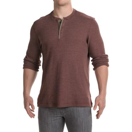 Mountain Hardwear Fallon Thermal Henley Shirt - Long Sleeve (For Men)