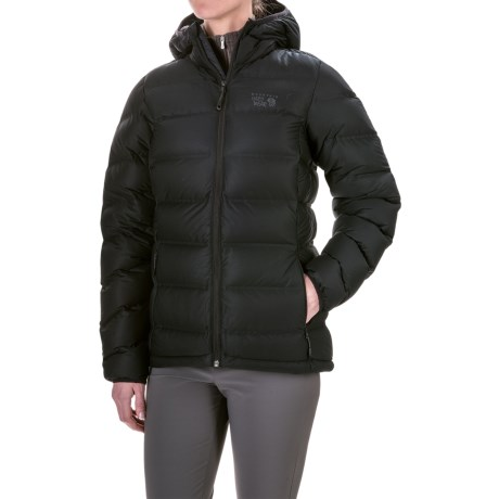 Mountain Hardwear StretchDown Plus Hooded Jacket - 750 Fill Power (For Women)
