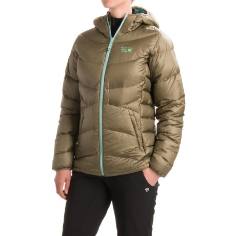 Mountain Hardwear Kelvinator Q.Shield® Down Jacket - 650 Fill Power, Hooded (For Women)