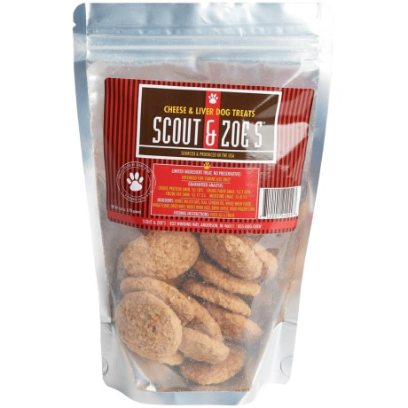 Scout & Zoe's Scout and Zoe's Cheese & Liver Dog Treats - 6 oz.