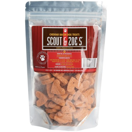 Scout & Zoe's Scout and Zoe's Cheddar and Bacon Dog Treats - 6 oz.