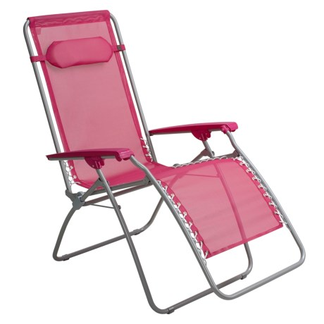 Pink recliner review of lafuma rt folding recliner chair by anna on 3 3 2010 - Lafuma ontspannen rt ...