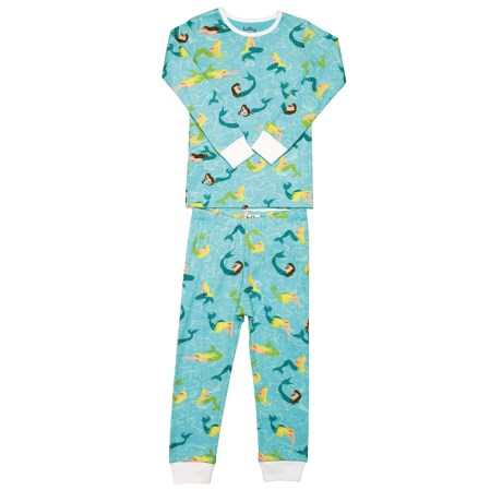 Hatley Knit Cotton Pajamas - Long Sleeve (For Little Kids)