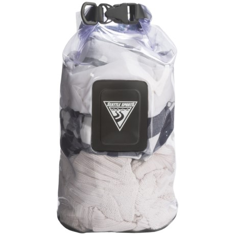 Seattle Sports EcoOpti Clear Waterproof Dry Bag - 10L