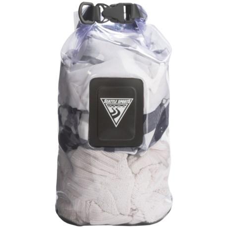 Seattle Sports EcoOpti Clear Waterproof Dry Bag - 10L