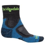 Bridgedale CoolFusion Trail Socks - CoolMax®, Quarter Crew (For Men and Women)