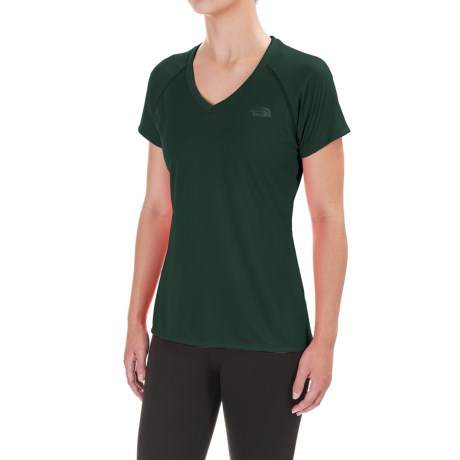 The North Face Reaxion Amp Shirt - V-Neck, Short Sleeve (For Women)