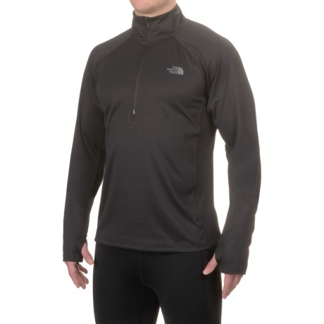 The North Face Momentum Fleece Shirt - Zip Neck, Long Sleeve (For Men)