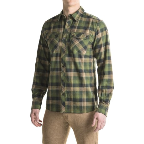 Outdoor Research Crony Flannel Shirt - Organic Cotton, Long Sleeve (For Men)