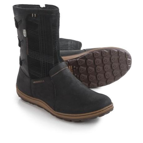 Merrell Ashland Vee Boots - Waterproof, Leather (For Women)
