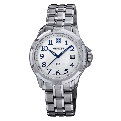 Wenger GST Watch - Stainless Steel (For Men)