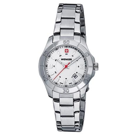 Wenger Alpine Swiss Quartz Analog Watch - Stainless Steel (For Women)
