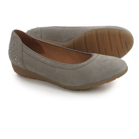 Ara Percy Ballet Flats - Nubuck (For Women)
