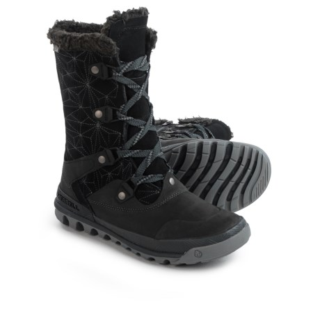 Merrell Silversun Lace Leather Snow Boots - Waterproof, Insulated (For Women)