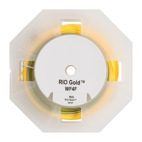 Rio Gold Floating Fly Line - Weight Forward, 90'