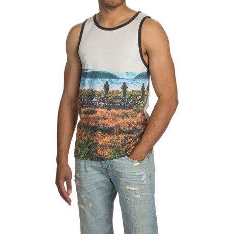 HippyTree Maritime Photo Tank Top (For Men)