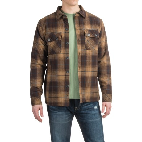 HippyTree Scripps Flannel Shirt Jacket - Sherpa Fleece (For Men)