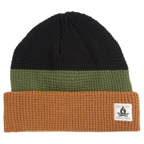 HippyTree Doheny Waffle-Knit Beanie (For Men)