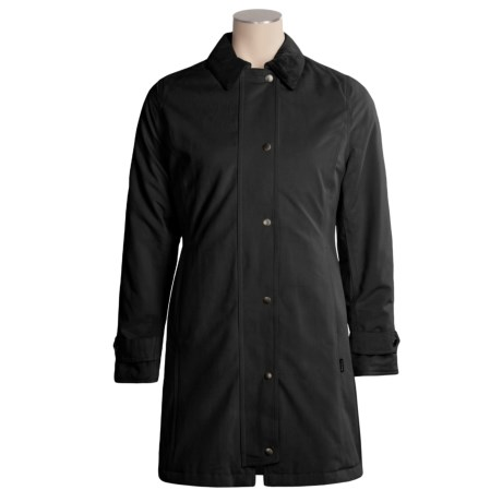 Barbour Newmarket Jacket - Waterproof, Insulated, Soft Cotton (For Women)